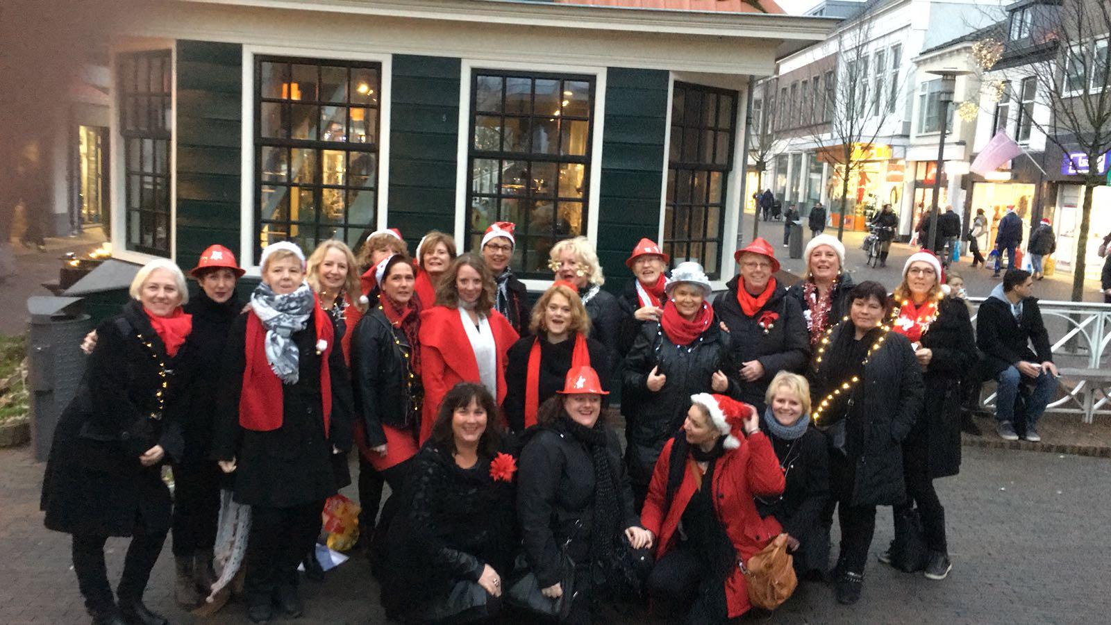 Kerstconcert Gedempte Gracht Zaandam 2016